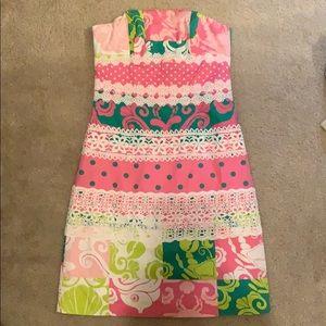 Lilly strapless dress